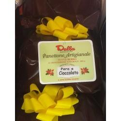 Panettone Pandoro Artiginale Pera e Cioccolate