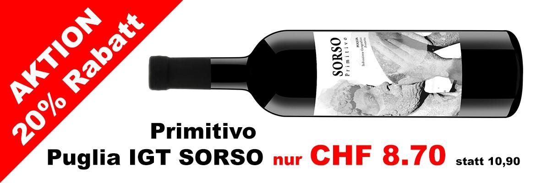 Primitivo Puglia IGT SORSO